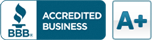 A+ Accredited Business Better Business Bureau
